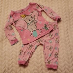 Disney Dumbo Pj Set